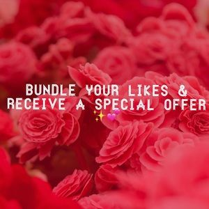 Bundle to receive an offer 💕